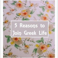 5 Reasons to Join Greek Life